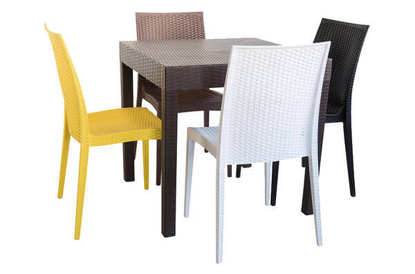 rattan plastic chair mould